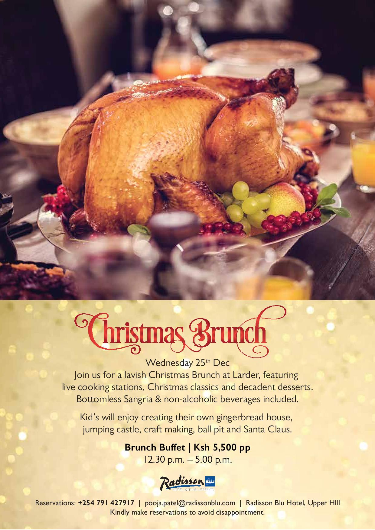 Lavish Christmas Brunch