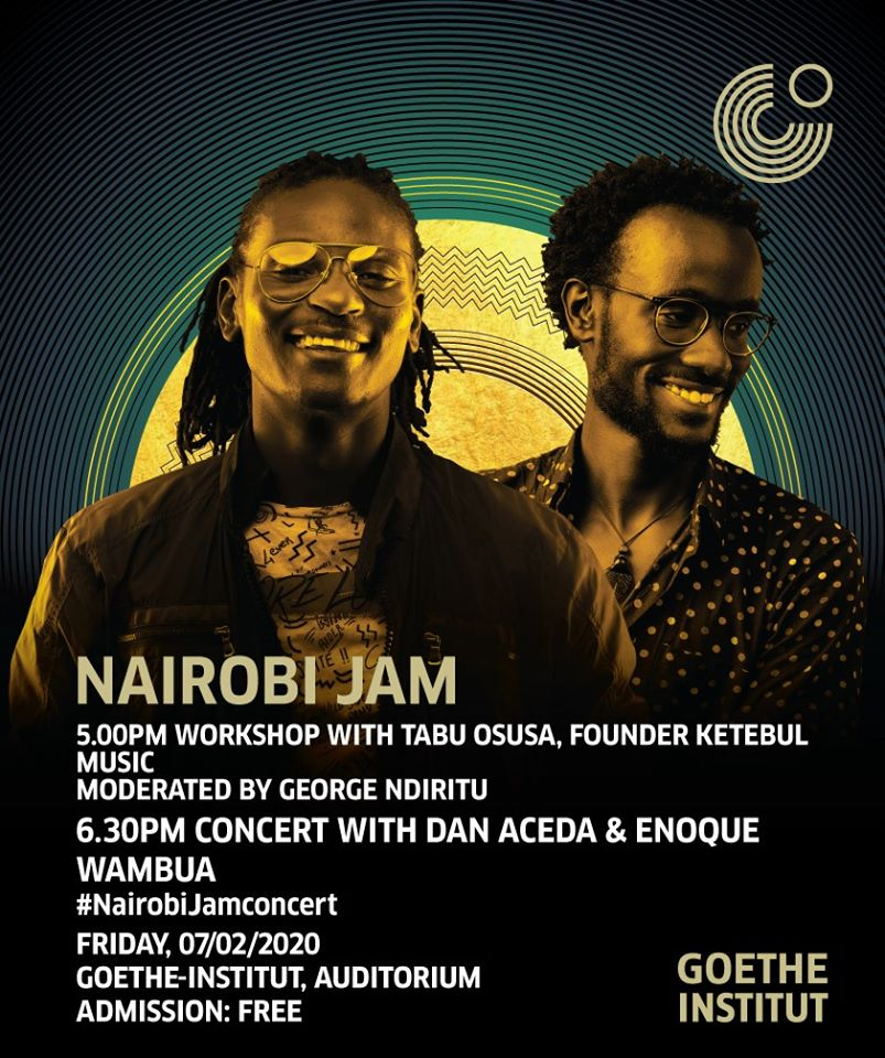 Nairobi Jam with Dan Aceda and Enoque Wambua