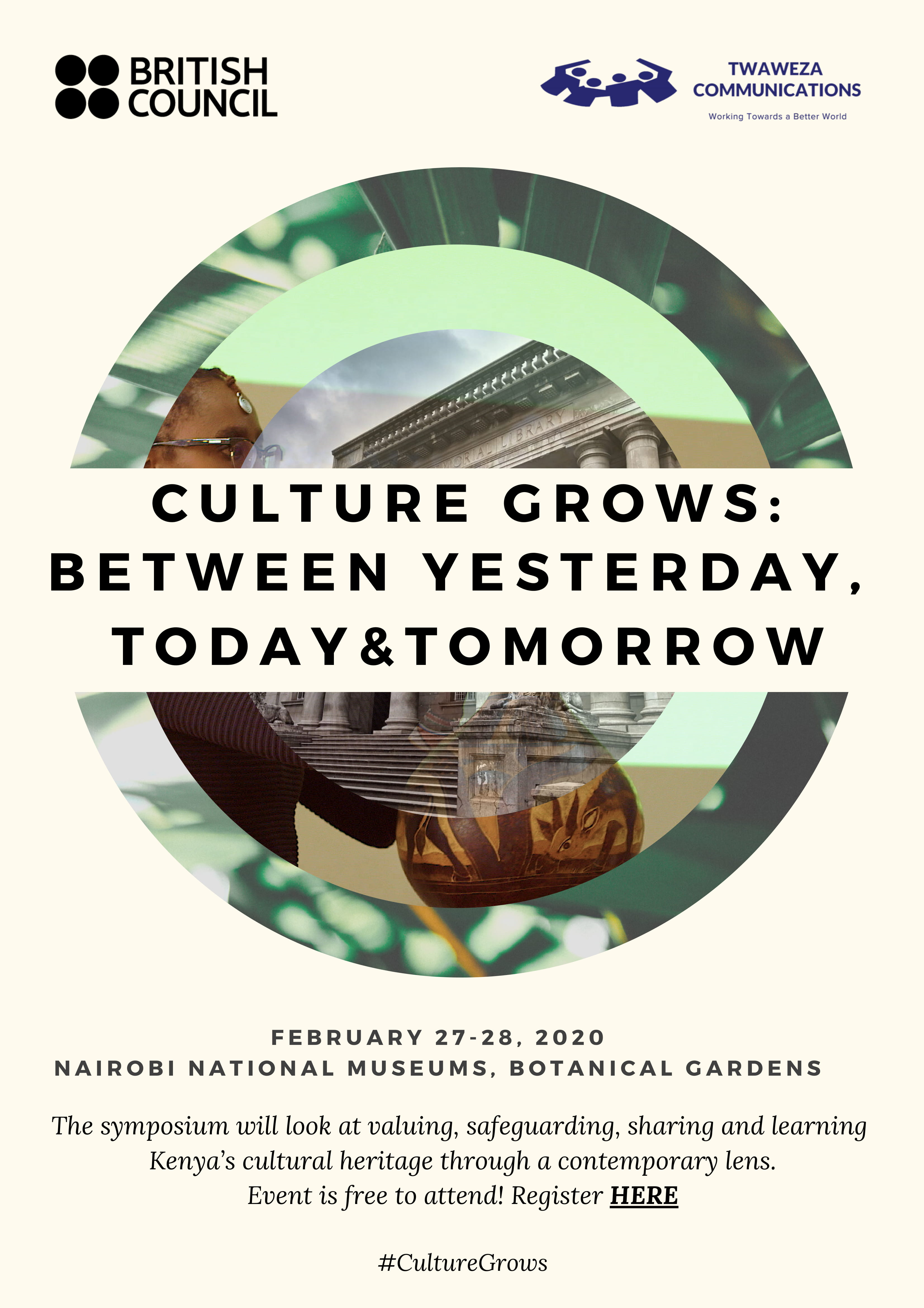 Culture Grows: Between Yesterday, Today and Tomorrow Symposium