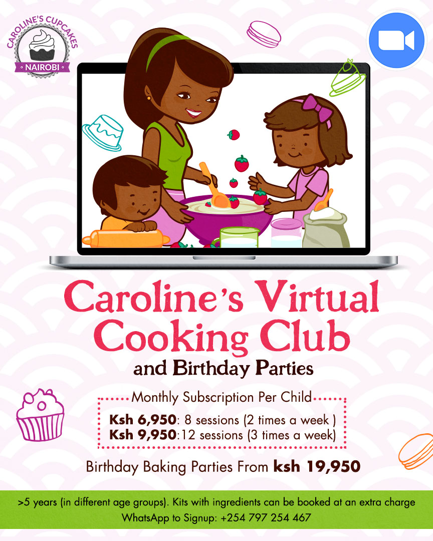 Caroline's Virtual Holiday Cooking and Baking Club