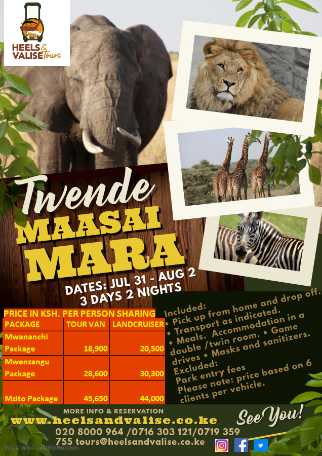 3 Days and 2 Nights Safari
