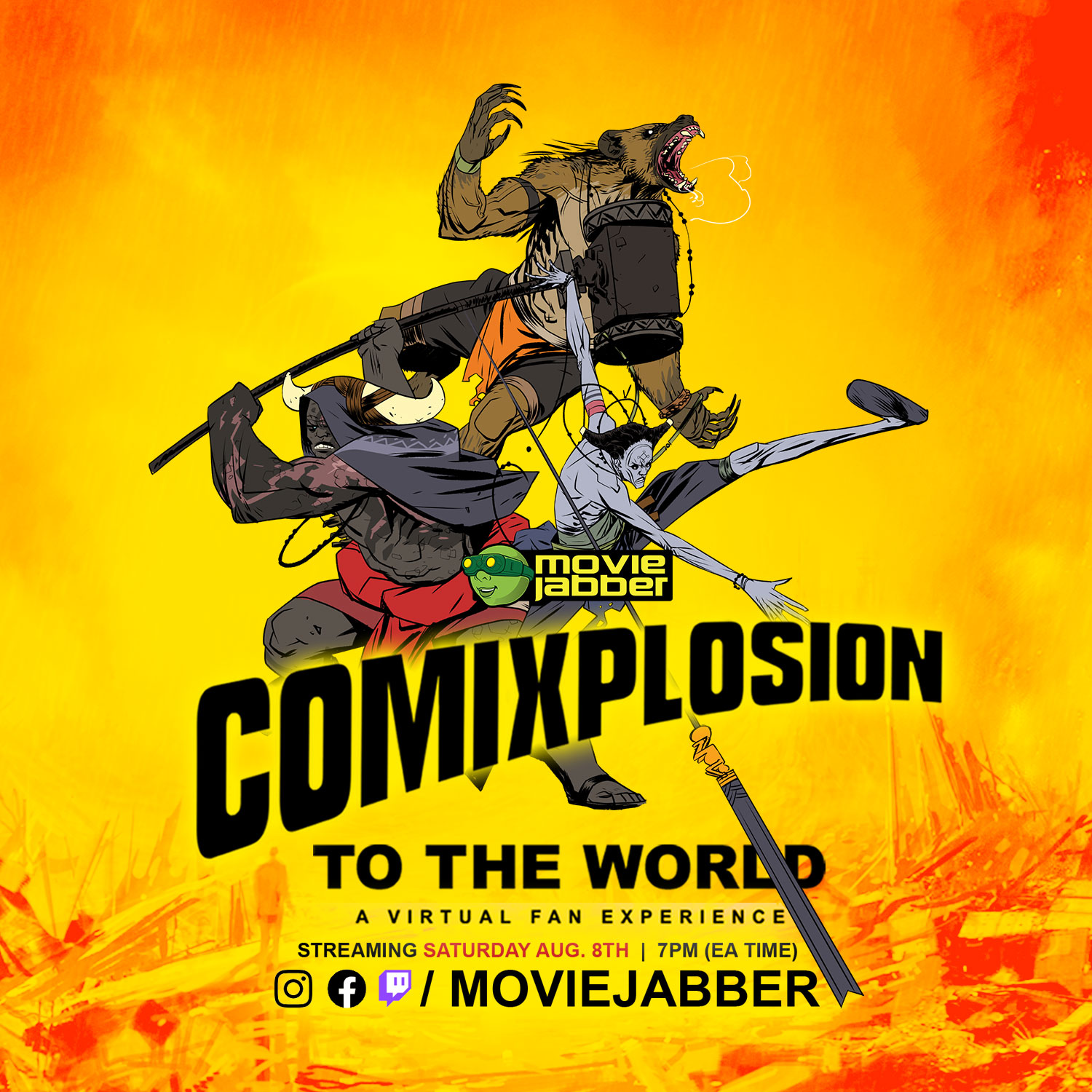 Comixplosion To The World