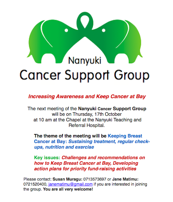 Nanyuki Cancer Support Group