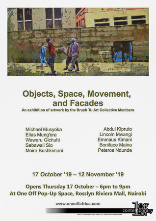 Group Exhibition: Objects, Space, Movement and Facades
