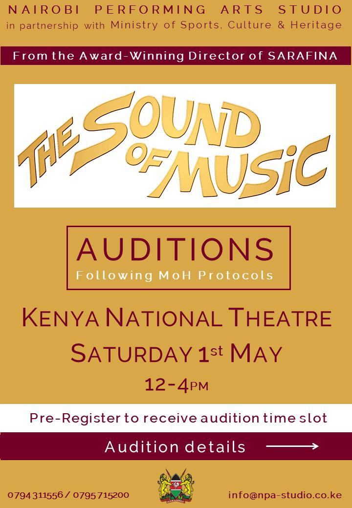 The Sound of Music Auditions